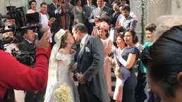 Detrás de cámaras: La boda de Silvia Pinal