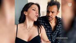 Alessandra Rosaldo se convierte en Federica y recrea escena de 'La Familia P. Luche' con Eugenio Derbez