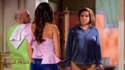 """'Doña Lorena' se queja del """"rechinadero de muebles"""" que hacen los recién casados en 'Vecinos'"""