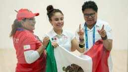 """Paola Longoria tras su oro: """"Es un orgullo contribuir para México"""""""