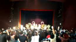 Video: Rinden homenaje de cuerpo presente a Edith González en el Teatro Jorge Negrete
