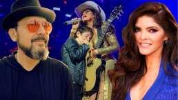 Video: Hijo de Ana Bárbara y Reyli Barba rompe en llanto al ver cantar juntos a sus padres en el escenario