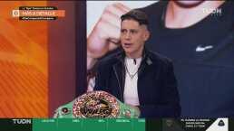 La 'Tigre' Jiménez sorprendida por la peluca de Franchone Cruz