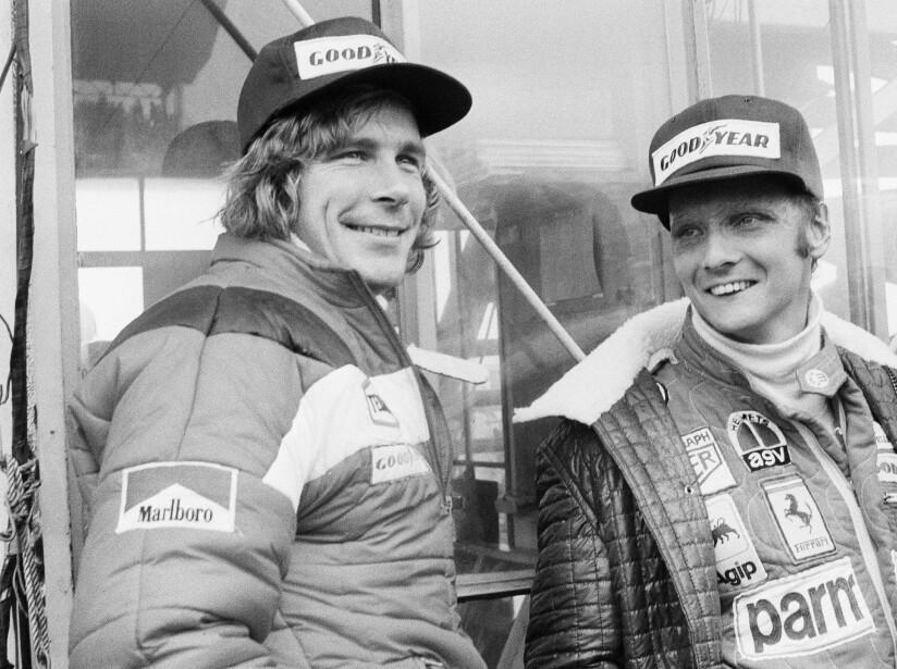 Niki Lauda, James Hunt