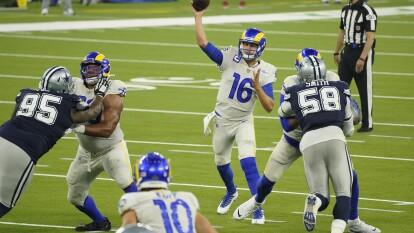 Los Rams le pegan a los Cowboys en su debut de la temporada 2020.