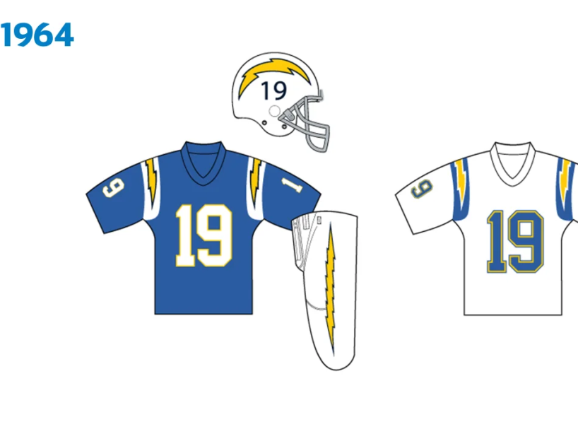 Uniforme Chargers 1964.png