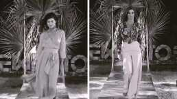 Reto 4 Elementos: Montserrat Oliver y su novia Yaya Kosikova desfilan en la pasarela tropical
