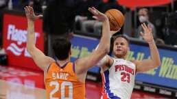 Pistons remonta en el mejor juego de la carrera de Jerami Grant