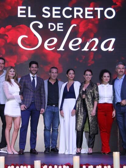Se presentó la serie 'El secreto de Selena' en la Ciudad de México, que se estrenará el 23 de septiembre.