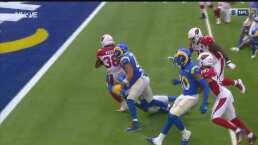 ¡Imparable! Los Angeles Rams sufren con el acarreo de Jonathan Ward