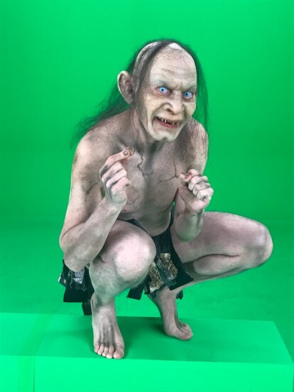 Golumes interpretado por Juan Frese.