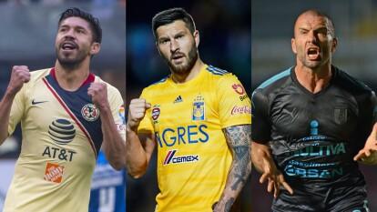 - Estos son los 10 goleadores más temibles durante los últimos 10 años en México.<br>- Se considera únicamente la fase regular de cada campaña porque sumar las anotaciones de Liguilla, sería ligeramente disparejo debido a que no todos tuvieron las mismas posibilidades de jugar en fase final.<br>- ¿Con qué jugador te quedarías para formar tu delantera?</br></br>