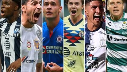 El 'top 10' de los equipos más caros del fútbol mexicano está conformado por: Monterrey, Tigres, Cruz Azul, América, Pachuca, Santos, León, Chivas, Pumas, Tijuana.