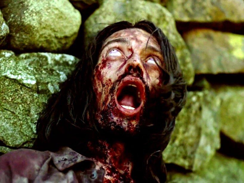 2. Zombie de 28 Days Later: Los muertos vivientes de Exterminio no eran lentos, eran aterradoramente rápidos.