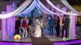 Mitzy regala vestido de novia Hoy 18 junio