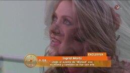 Ingrid Martz enfocada en el éxito de Qué pobres tan ricos