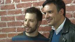 Luis Arrieta y Alejandro de la Madrid, orgullosos de estar 'Enfermos de amor'