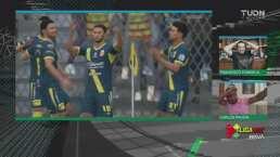 ¡Aparece la magia en la eLiga MX! Valdivia asombra con su gol