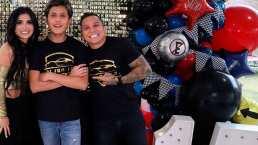 Edwin Luna organiza fiesta de XV años para hijo de Kimberly Flores y lo muestra en redes sociales