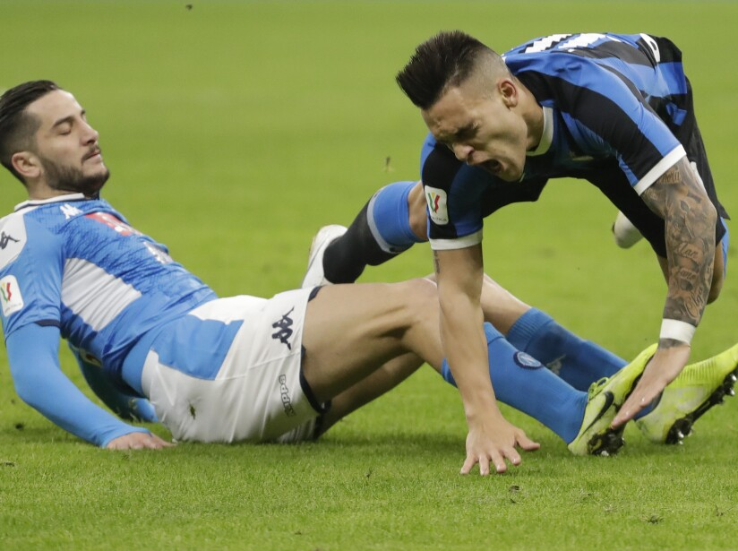 APTOPIX taly Soccer Italian Cup