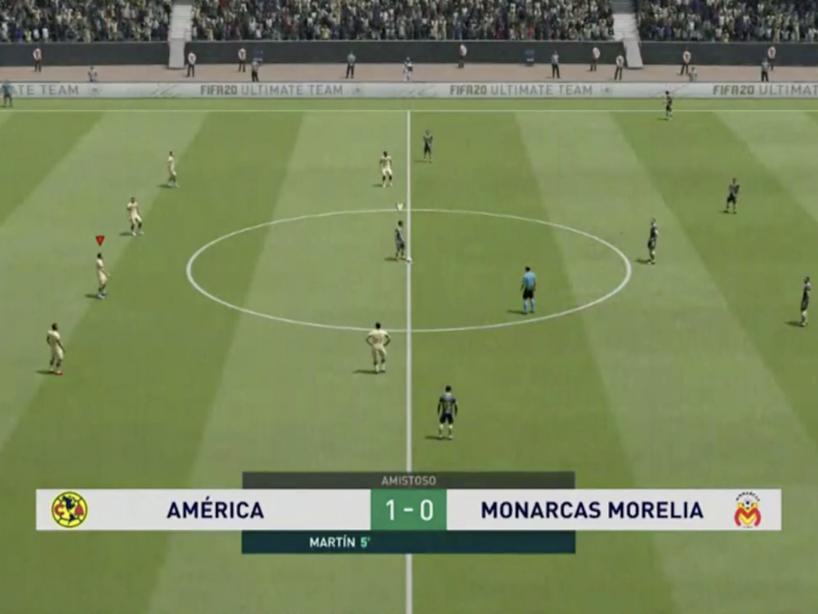 eLiga MX, Morelia vs América, 4.png