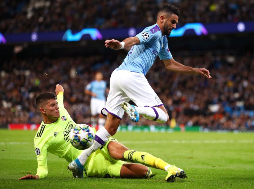 Manchester City v Dinamo Zagreb: Group C - UEFA Champions League