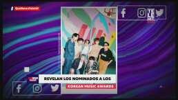 Anuncian a los nominados a los Korean Music Awards