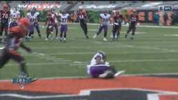 ¡Imparable Lamar! Jackson y Marquise Brown ponen otro touchdown