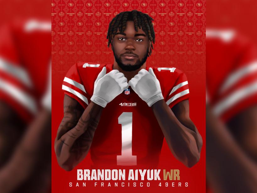 Brandon Aiyuk, NFL Draft, 1.png