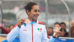 Cecilia Pérez logró el bronce del Triatlón en Lima 2019