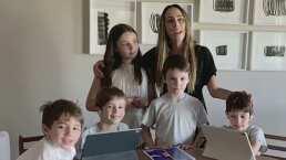 Miss Inés Gomez Mont: La conductora cambia de profesión para ayudar a sus cinco hijos con la tarea