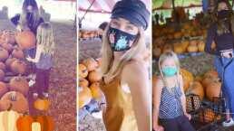 Geraldine Bazán y sus 'mosqueteras' buscan las calabazas perfectas para celebrar Halloween