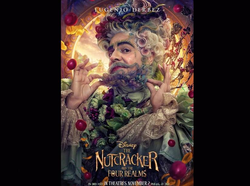 Eugenio Derbez será el 'Rey de las Flores' en 'El Cascanueces y Los Cuatros Reinos'
