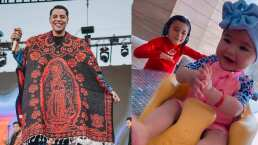 Los hijos de Eduin Caz demuestran ser fans de su papá y bailan con mucha emoción 'La Cajetosa'