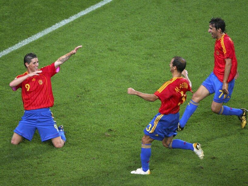 Group H Spain v Tunisia - World Cup 2006