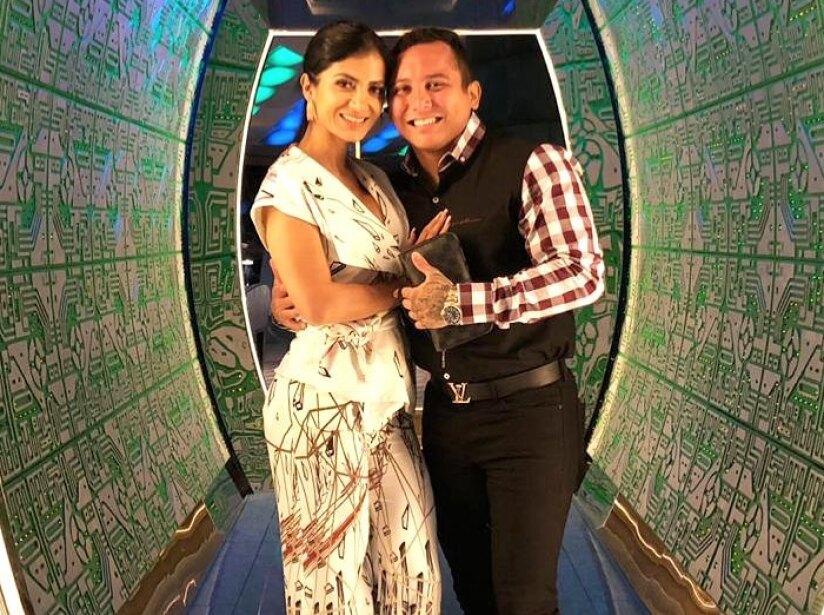 Edwin Luna y Kimberly Flores