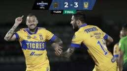 ¡Juegazo! Tigres impide la remontada de FC Juárez y vence 2-3