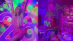 Danna Paola sorprendió con una espectacular mesa de dulces inspirada en su nuevo sencillo