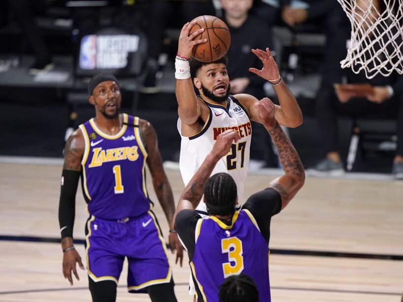 Nuggets Lakers Basketball