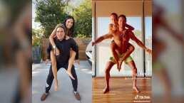 Aislinn y Vadhir Derbez les demuestran a Sebastián Rulli y Angelique Boyer que ellos también pueden con el 'Koala Challenge'