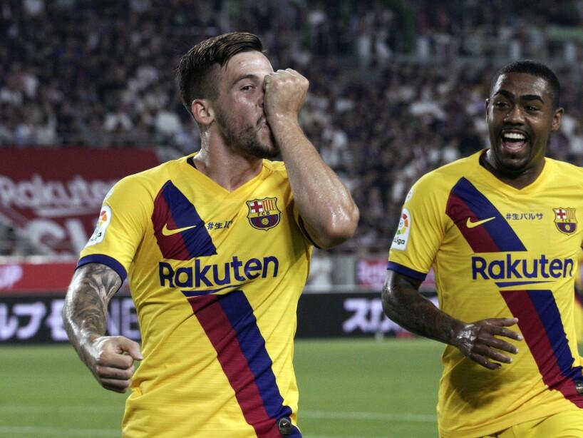 Japan Soccer Barcelona