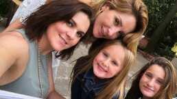 Las hijas de Geraldine Bazán consienten a Zoraida Gómez decorando su pancita de embarazo
