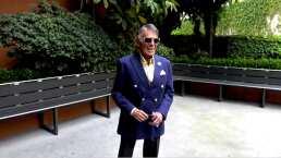 Tras estar al borde de la muerte, Héctor Suárez reaparece en los pasillos de Televisa con nuevo proyecto