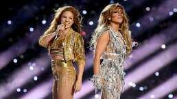 ¡Así enseña JLo a Shakira cómo mover las caderas!