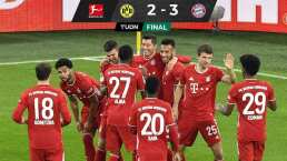 El Bayern venció al Dortmund para tomar el liderato de la Bundesliga