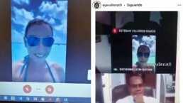 Estudiante colombiana se hace viral por tomar su clase desde Cancún mientras toma el sol
