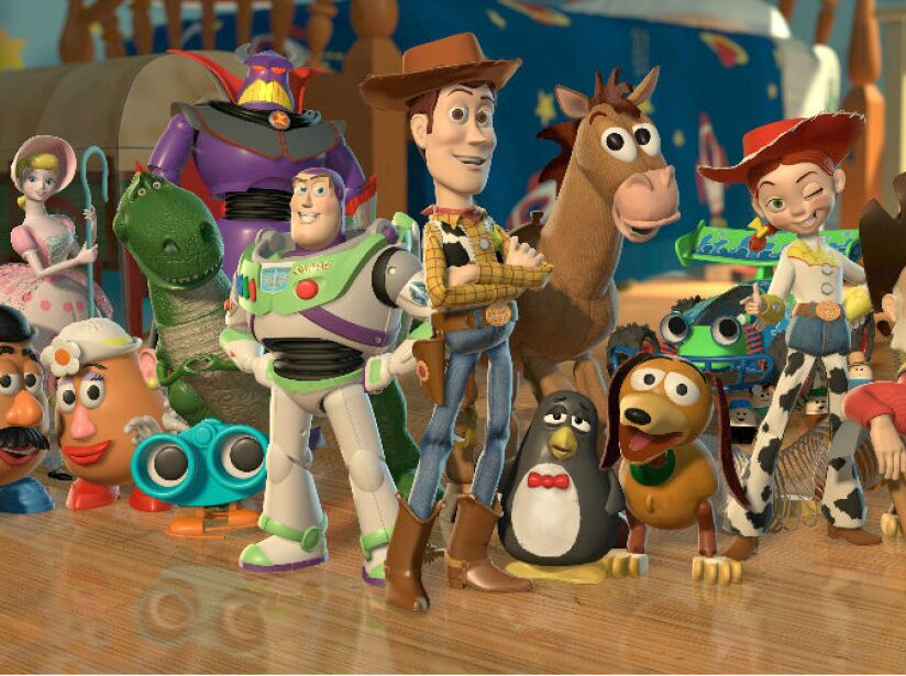 2. Toy Story recaudó 1.000 millones de dólares.
