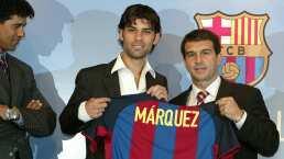 Rafa Márquez fue una ganga para el Barça; así lo fichó Laporta