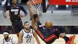 Jimmy Butler comanda triunfo del Heat ante el Jazz