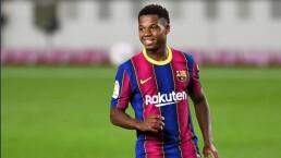Ansu Fati pasa a la historia con el Barça a sus 17 años